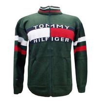 Blusa De La Tommy Hilfiger Casaco Jaqueta Sueter Verde