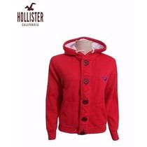 Blusa De Frio Masculina Hollister / Moletom Ótimo Acabamento