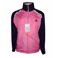 Agasalho Adidas Feminino Rosa E Azul Marinho