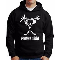 Blusa Moletom Pearl Jam Blusa De Banda De Rock Blusa Rock