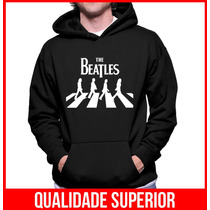 Moletom The Beatles Masculino/feminino Blusa De Frio Canguru