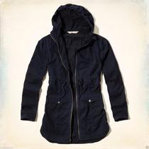 Hollister Abercrombie Jaqueta Coat Point Mugu Twill Parka G