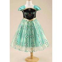 Frozen - Fantasia / Vestido Anna Coroação