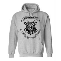 Blusa Hogwarts Moletom Canguru - Harry Potter