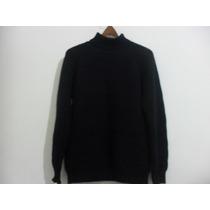 Casaco De Lã Azul Marinho - Unisex - Tam. G - 48