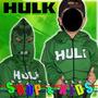 Blusa Casaco Moleton Agasalho Com Mascara - Hulk