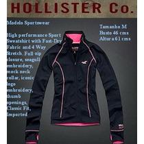 Hollister Abercrombie Casaco Femin Active Sportwear P/ent M