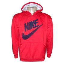 Blusa Nike De Moletom Casaco Jaqueta Vermelha