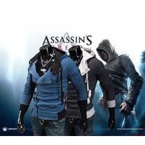Jaqueta Moletom Assassins Creed Pronta Entrega Frete Grátis
