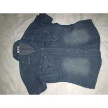 Camisa Jeans Feminina Tamanho M