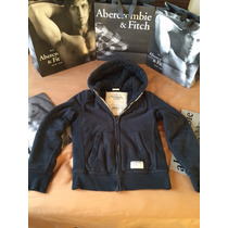 Jaqueta Moleton Abercrombie And Fitch Pelo Inverno Neve