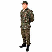 Farda Exercito Brasileiro Camuflada, Uniforme Camuflado