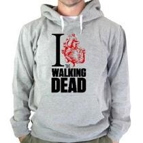 Blusa The Walking Dead Moletom Canguru Com Capuz