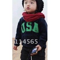 Blusão Quentinho Infantil Menino Boy Frio Importado Moleton