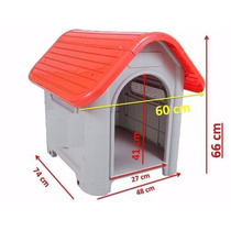 Casinha N°3 Cachorro Mec Pet House Caes E Gatos