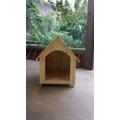 Casa Para Cães/cachorros De Madeira Pinus Número 5