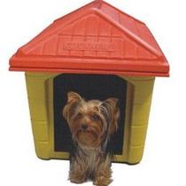 Casinha Plastica Estilo Europeu Para Cachorros N.3