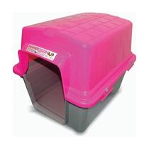 Casinha Plástica N3 (média) - Furacão Pet (teto Removível)
