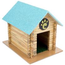 Casinha Para Cachorros Pequeno Porte Serrana Azul 7003 Carlu