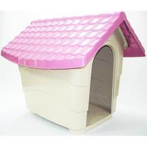 Casa Casinha Para Cães N4 82x70x70 Plast Pet Cores Variadas