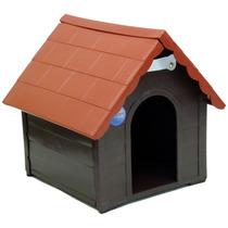 Casa Para Cães Plástica Desmontável G 51 X 50 X 62
