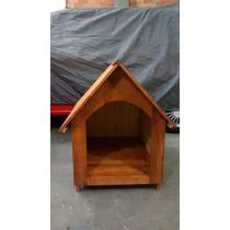 Casinha De Madeira Envernizada Número 5 Para Cães/cachorro.