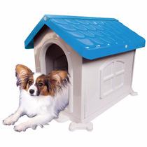 Casinha Plástica E Desmontável Para Cachorro