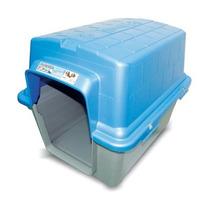 Casinha Plástica N2 (pequena) - Coloridas(teto Removível)