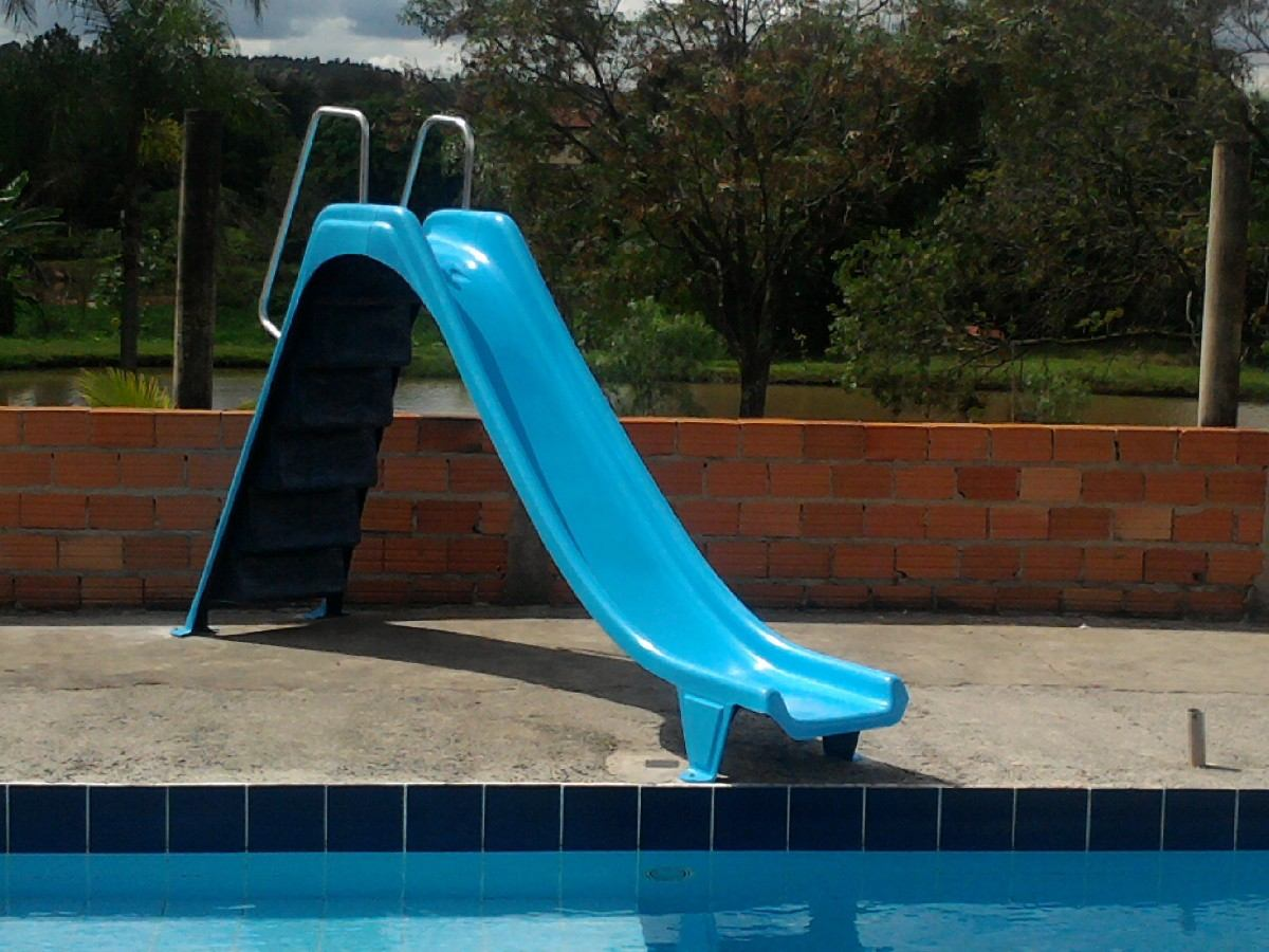 Cascata para piscina escorregador para piscina em fibra for Piscina fibra em l