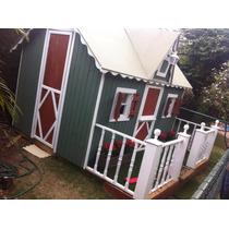 Casa De Boneca Em Madeira