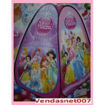 Barraca Casinha Toca Casa Cabana Infantil Princesas + Bolsa