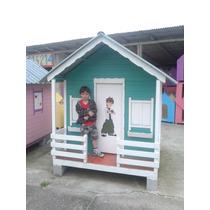 Casinha Para Crianças, Madeira, Telha Ecológica Pvc, Tam M.