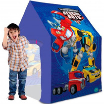 Barraca Transformers Iluminada Com Sensor Bang Toys