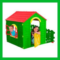 Casinha De Plástico Playground Garden Verde Keter Plastics
