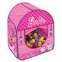 Barraca Infantil Com 100 Bolinhas Barbie 69912 - Fun Toys