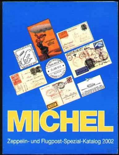 Catalogo Michel Especializado De Zeppelin E Vôos Especiais