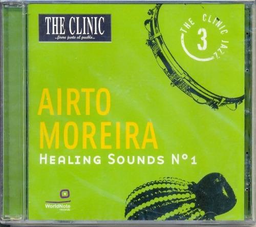 Cd Airto Moreira - Healing Sounds Nº1 - Importado, Lacrado
