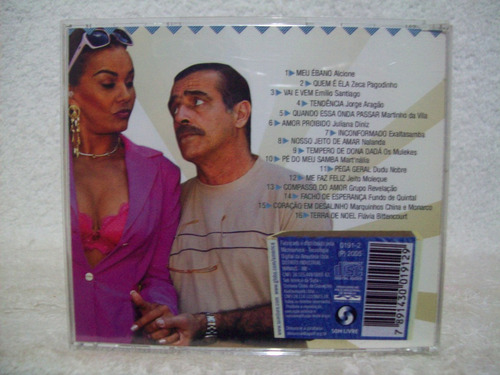 Cd América- Berço Do Samba