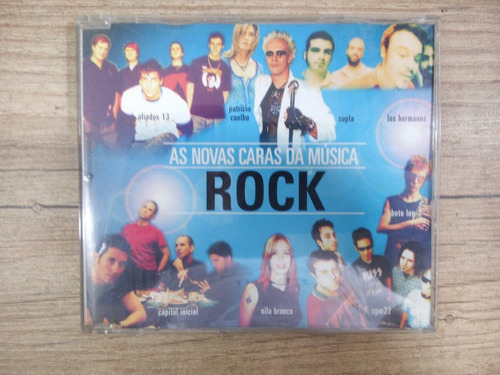 Cd As Novas Caras Da Música Rock