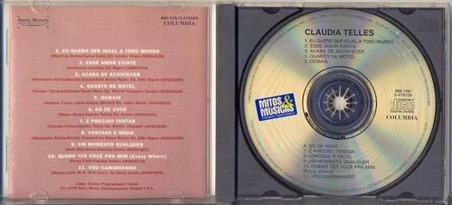 Cd Claudia Telles - Claudia Telles - 1979
