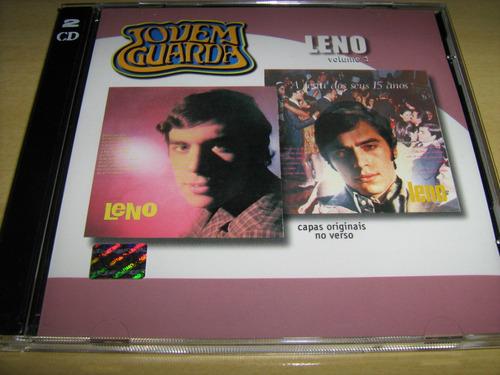 Cd Duplo Leno : Volume 1 + A Festa Dos Seus 15 Anos/ Novo!!!