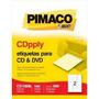 Etiqueta Cd Dvd Cd10b Inkjet E Laser 10 Folhas Pimaco