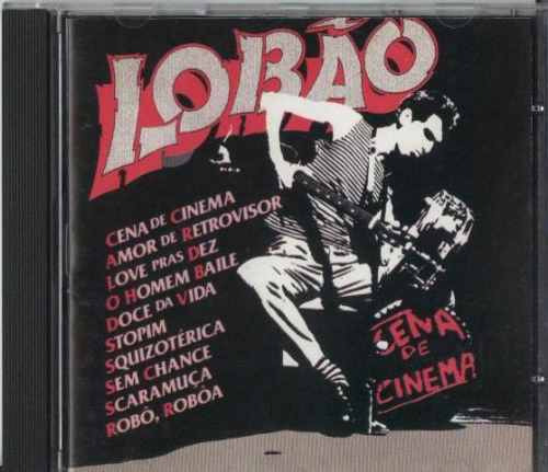Cd Lobão - Cena De Cinema - 1982