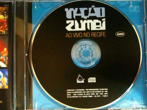 Cd Nação Zumbi Ao Vivo No Recife