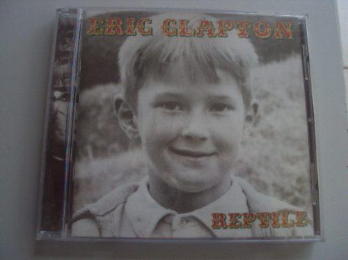Cd Original - Eric Clapton - Reptile