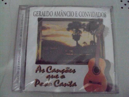 Cd Original - Geraldo Amâncio E Convidados - Novo Lacrado