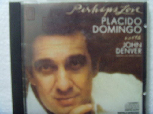 Cd Placido Domingo - Perhaps Love