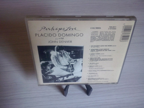 Cd Placido Domingo-perhaps Love