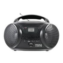 Rádio Portátil Bs83 Fm Mp3 Usb Preto - Britânia Bvolt