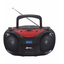 Radio Portatil Cd Player Radio Am Fm Mp3 Boombox Sd Card Usb